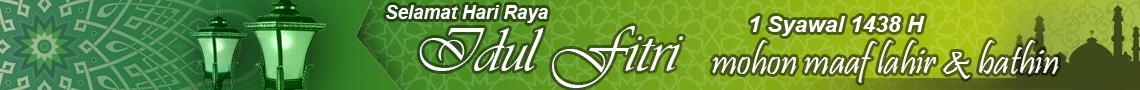 Redaksi Indosport mengucapkan Selamat Idul Fitri 2017